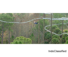 Adventure Setup Company in India | Rope course Construction | Zip line setup in India- Gravity Maker