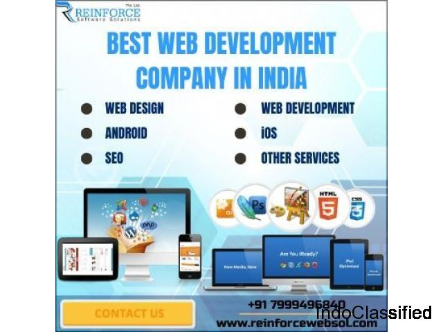 Affordable Web Design Services In India - Reinforce Software Solutions