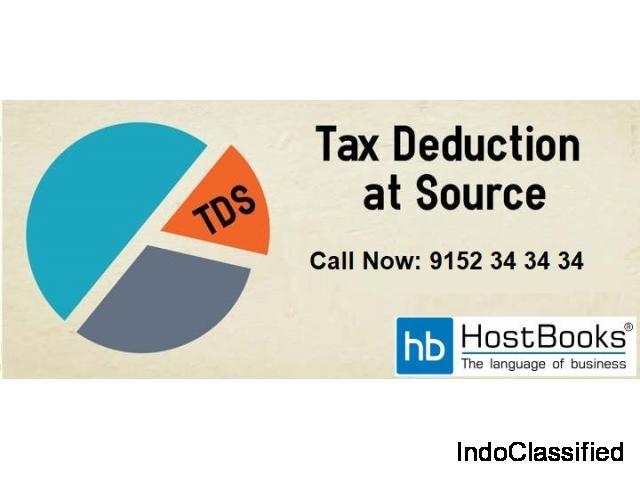 TDS Return Filing just got simpler with Hostbooks TDS!
