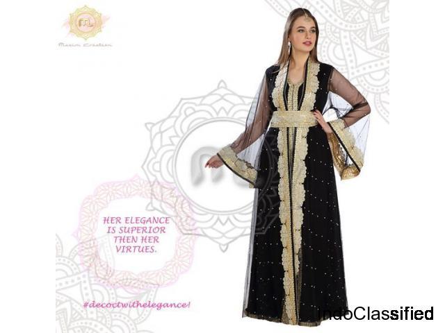 Black Wedding Gown - Maxim Creation