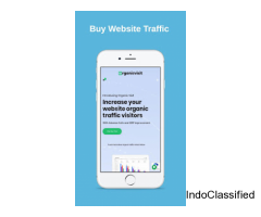 Organic Visit - Best Mobile App to Buy Website Traffic