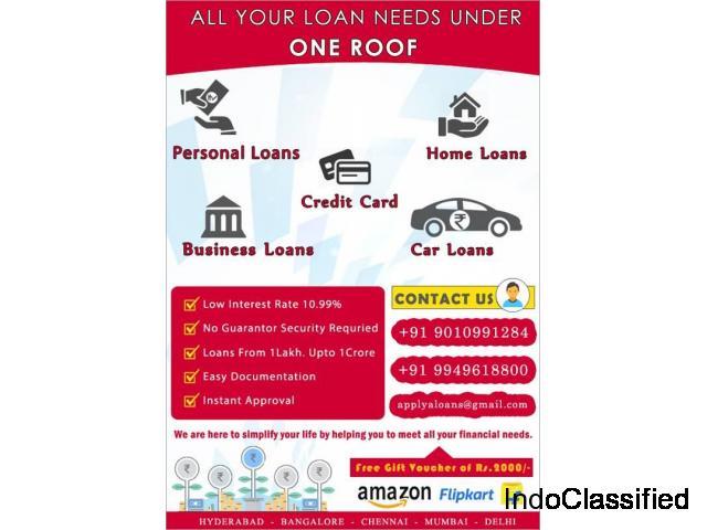 Applyaloans - Personal Loans | Home Loans | Business Loans | Car Loans