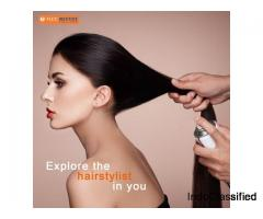 Hair stylist course in Delhi new bridal makeup class Delhi