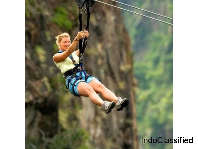 Ropes course Construction   Zipline setup in India- Gravity Maker
