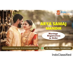 Book Arya Samaj Mandir in Delhi for Instant Marriage, Call9310044466