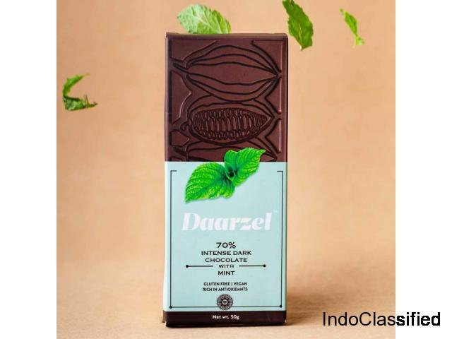 Buy Dark Chocolate Bar Online in India @ Ambriona.com