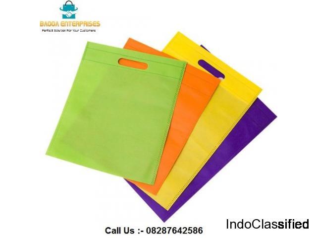 D Cut Non woven bags manufacturer Noida | Bagga Enterprises