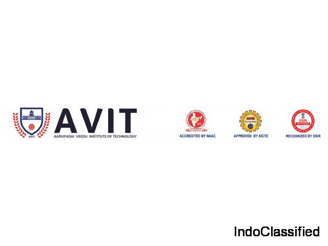 MECHANICAL ENGINEERING COURSES — AVIT