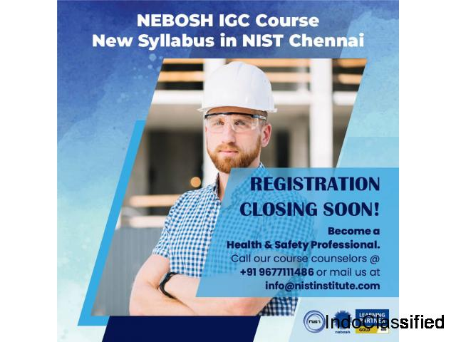 NEBOSH International General Certificate in Occupational Health and Safety