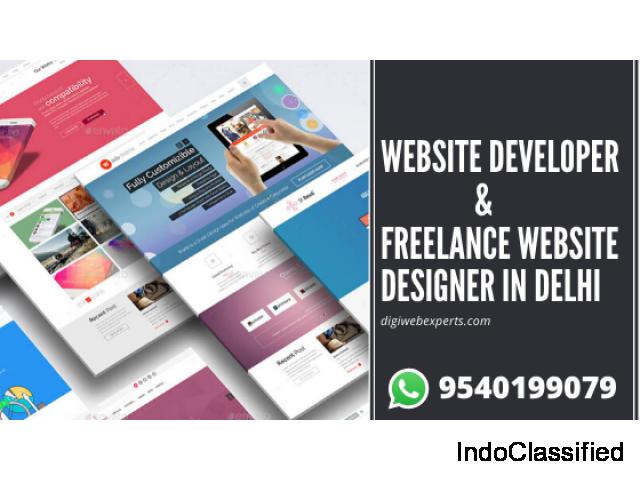 Website Developer In Delhi | Freelance website designer in delhi