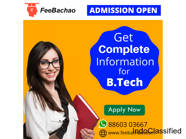 Find the list of top B.Tech colleges with 50% discount in India