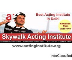 Sharpen Your Acting Skills with Skywalk, the Best Film Acting institute in Delhi