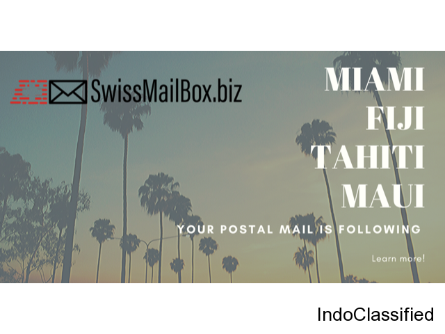 WELCOME TO SWISSMAILBOX Your home away from home mailbox.