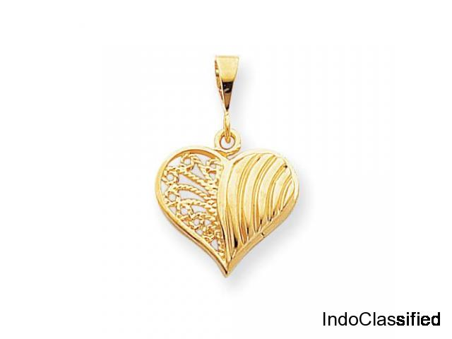Gold pendant with earrings designs