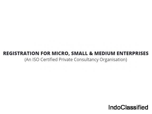 MSME/Udyog Aadhar Registration