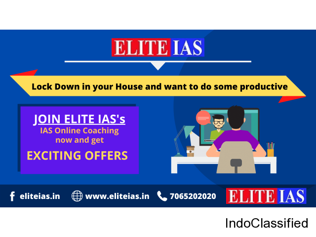 Best Online IAS coaching for working professionals