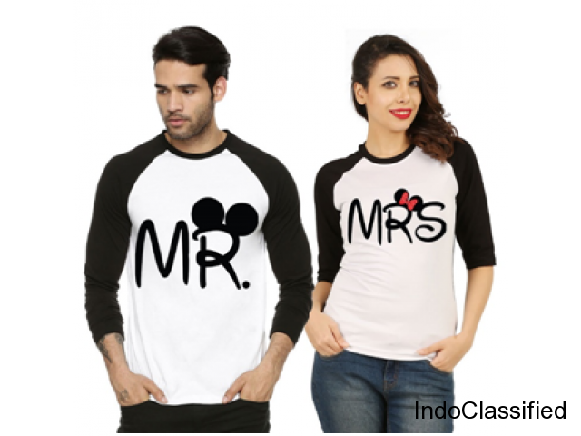 Great Ideas for Customized Couple T Shirts India