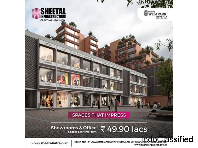 Sheetal Westpark Imperia Vastrapur, Ahmedabad - Retail Shops, Showrooms & Office Spaces