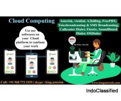 Cloud based call center (predictive dialer)