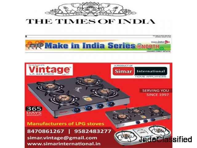 Top 10 Gas Stove Manufacturers