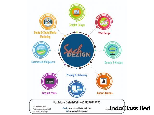 Graphic Designing and Web Designing