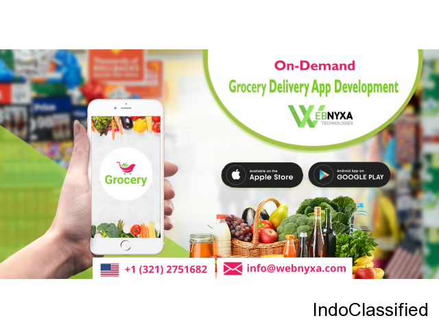 Online Grocery Delivery App - In Your Budget