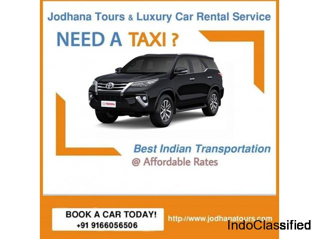 Car Rental in Jodhpur - Car hire services
