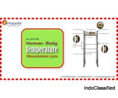 Human Body Temperature Measurement Gate dealers in Hyderabad, India | Metal Detection