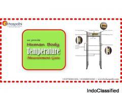Human Body Temperature Measurement Gate dealers in Hyderabad, India | Metal Detection