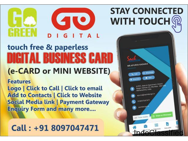 Digital Business Card or a Mini Website