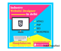 Industry Website Designer in Delhi