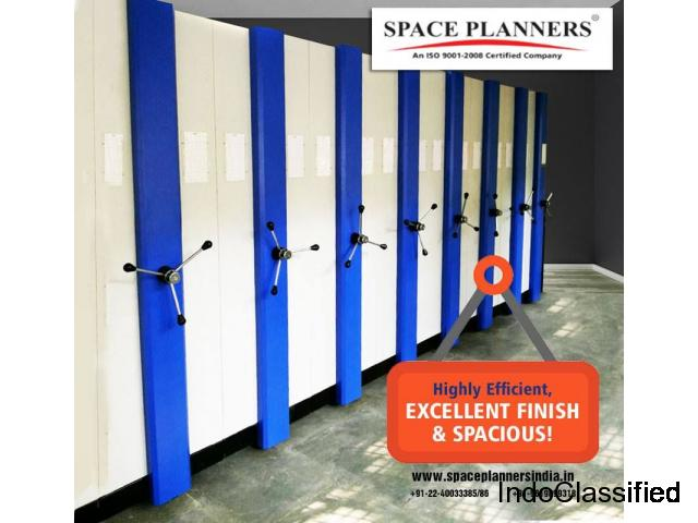 Mobile Compactor Storage Systems Manufacturer - Space Planners India