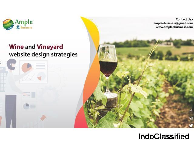 Wine and vineyard website design strategies