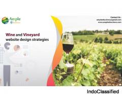 Wine and vineyard website design strategies