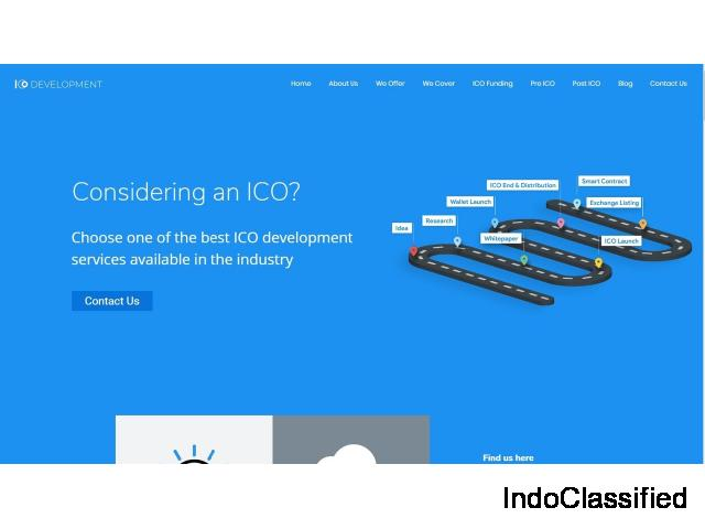 ICO Launching Platform Development| Hire ICO Developer| ICO Development