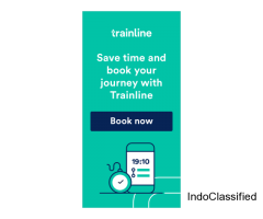 Trainline is Europe's leading retailer of train and coach tickets.