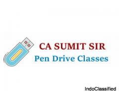 CA Foundation, Inter and Final Pendrive Classes by Sumit Sir