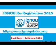 Check IGNOU Admission Status 2020