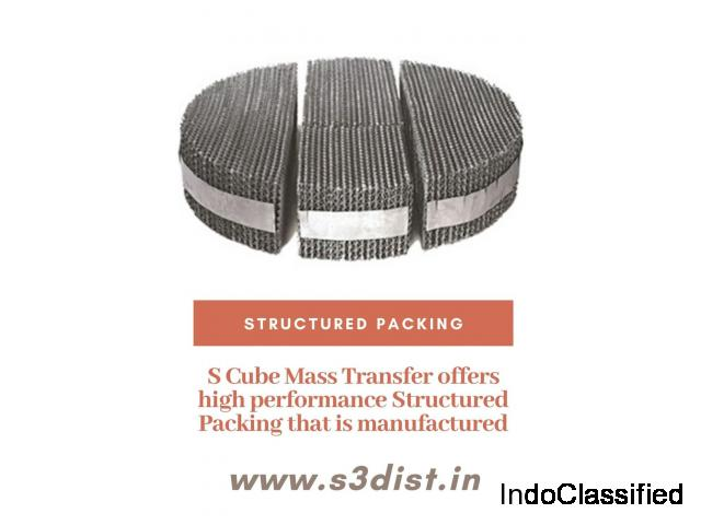 Structured Packing in India - Scube Mass Transfer