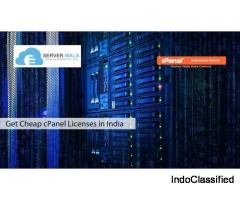 Get Cheap cPanel Licenses in India