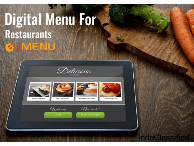 Find the Advanced Digital Restaurant Menu Software | jiMENU