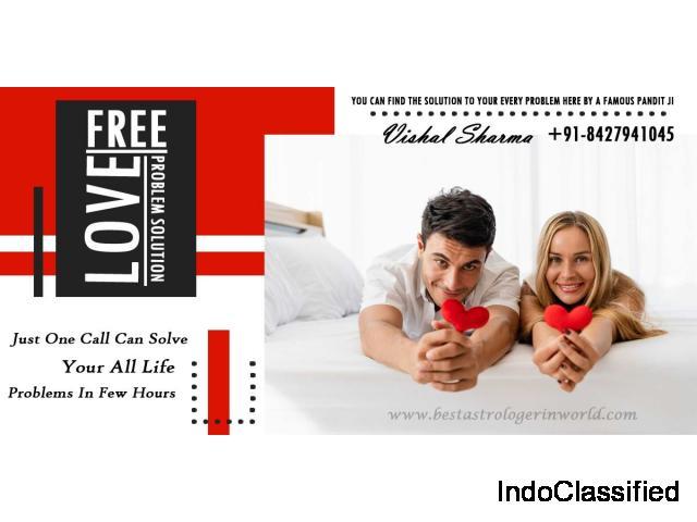 Free Love Problem Solution - +91-8427941045 - Vishal Sharma
