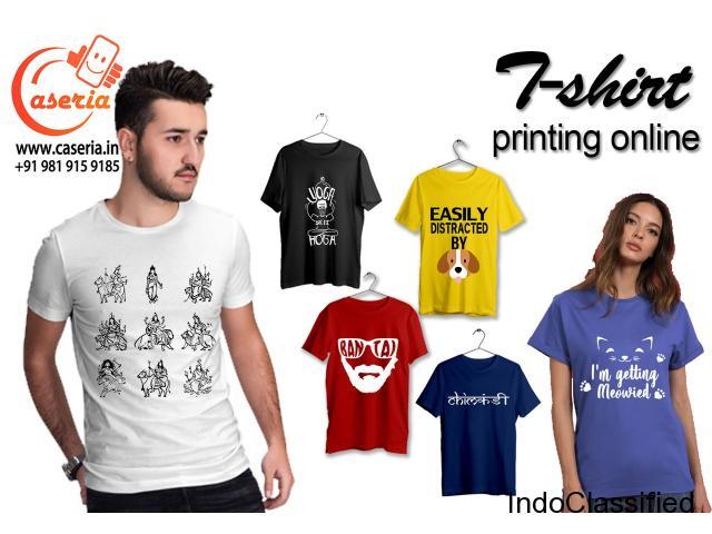Bulk Printed T-shirts for Men and Women