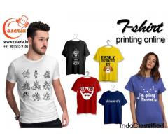 Bulk Printed T-shirts for Men and Women