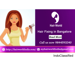 Hair Weaving in Bangalore