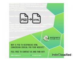 PSD to HTML Conversion Services | Esigners | Web Design Services in India