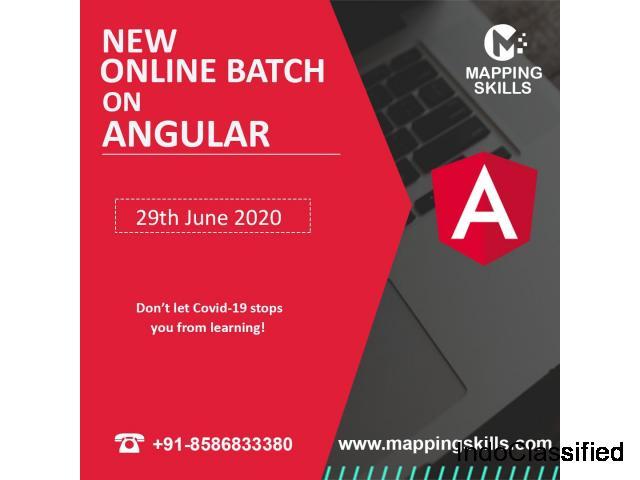 Online AngularJS  Training
