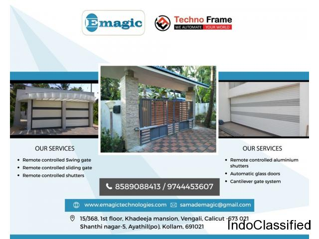Best Remote Controlled roof opener in Kottayam Kollam Alappuzha Pathanamthitta