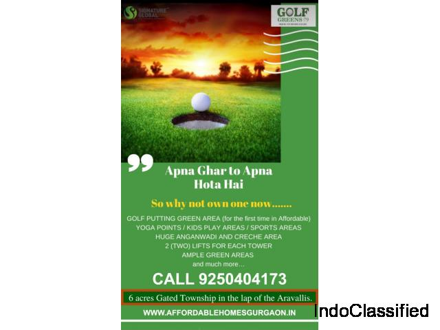 Signature Global Golf Greens 9250404173 Sector 79 Gurgaon