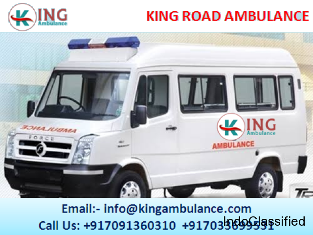 Now Use Road Ambulance Service in Darbhanga by King Ambulance